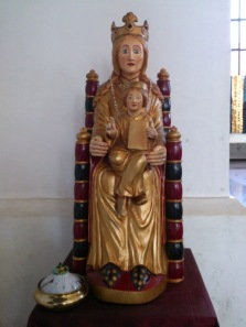 Pilgrimsmadonnan, vår Fru av Sverige i Katarina kyrka i Stockholm