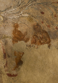 I en nisch i Priscillas katakomber finns den ädsta kända avbildningen av Jungfru Maria