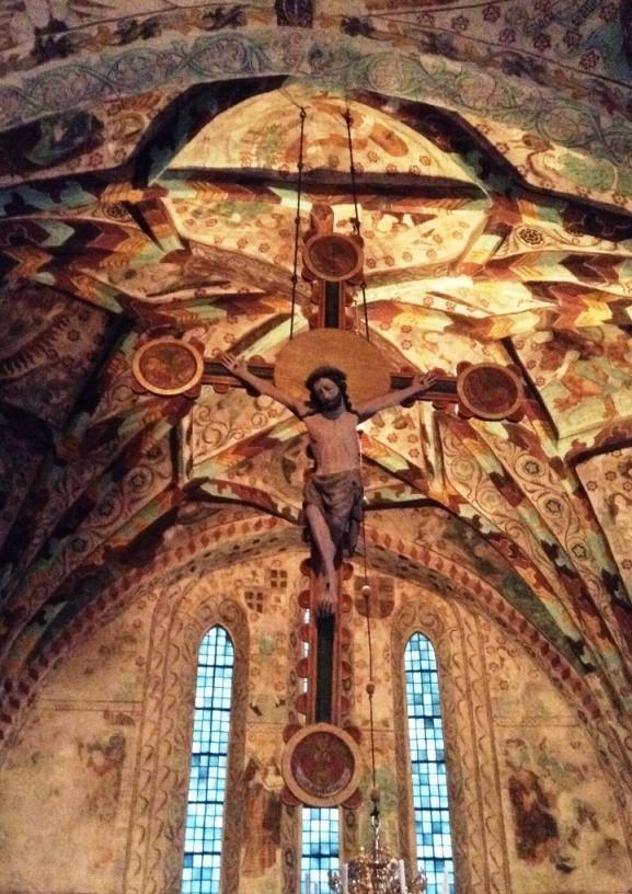 Triumfkrucifixet i Härkebärga kyrka