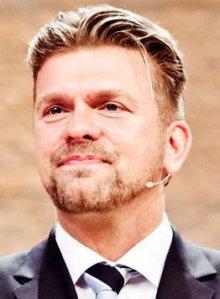 Joakim Lundkvist, pastor och ledare för Livets Ord i Uppsala
