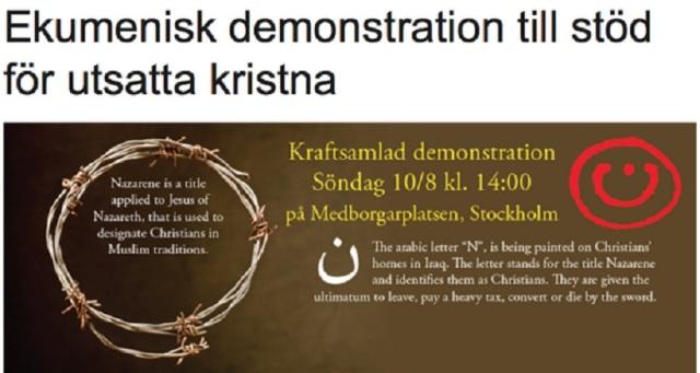 demonstrationsöndag