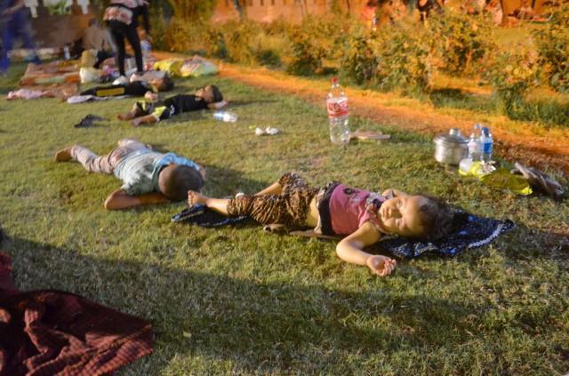 Flyktingar i Erbil och Ankawa. Foto Allan Kakony 6/8