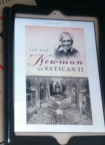 Intressant nyutkommen bok vars perspektiv hjälper oss att förstå Andra Vatikankonciliets betydelse idag, 50 år senare.
