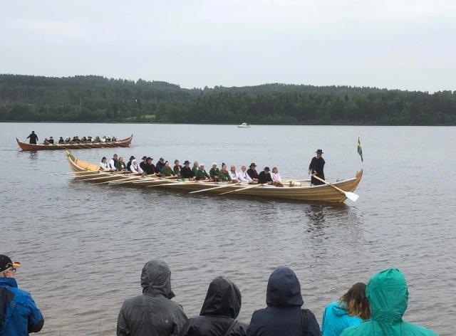 kyrkbåtsinvigning