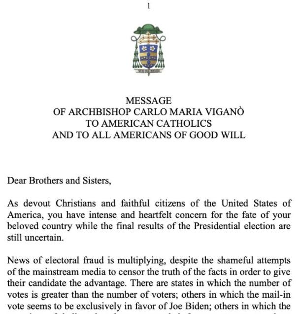 Paula White och ärkebiskop Viganò i spetsen för Trumps kristna trupper    Bengts Blogg